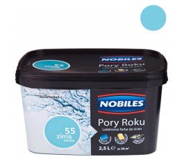 """nobiles farba """"pory roku"""" 2.5l zima morska"""
