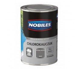 nobiles emalia chlorokauczukowa szara 1l do betonu i metalu u030802a010