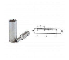 """teng tools nasadka długa 6-kątna 7mm z chwytem 1/4"""" 35620202"""