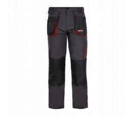 """lahtipro spodnie robocze rozmiar """"xxxl"""" (60) szaro-czarne lpsr0160"""