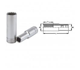 """teng tools nasadka z chwytem 1/2"""" 17mm 12-kątna 25730805"""
