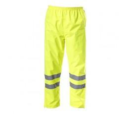 """lahtipro spodnie ostrzegawcze przeciwdeszczowe rozmiar """"l"""" żółte l4100803"""