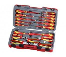 zestaw 18 szczypiec i wkrętaków 1000v teng tools