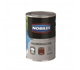 nobiles emalia chlorokauczukowa brązowa 1l do betonu i metalu u030204a010