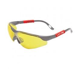"""lahtipro okulary ochronne żółte regulowane odporność mechaniczna """"f"""" 46051"""