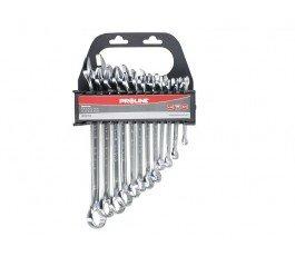 proline zestaw 8 kluczy oczkowo-płaskich 6-19mm 35308