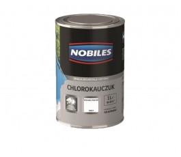 nobiles emalia chlorokauczukowa biała 1l do betonu i metalu