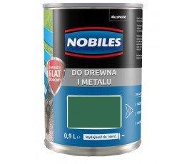 "nobiles farba alkidowa ""ftalonal"" 0,9l zielona trawiasta 5180543"
