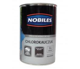nobiles emalia chlorokauczukowa brązowa czekoladowa 1l do betonu i metalu u030200a010