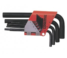 teng tools zestaw 9 kluczy trzpieniowych 6-kątnych 1,5-10mm 1479mmr 112690102