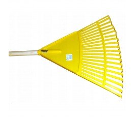kard grabie do liści z tworzywa 28x30cm żółte 280