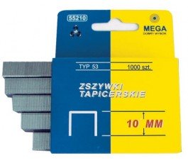 mega zestaw 1000 zszywek 6mm typ53 55206