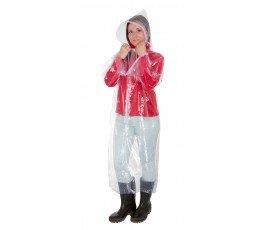 lahtipro płaszcz przeciwdeszczowy uniwersalny przeźroczysty z kapturem lppp01u