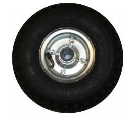 zabi koło 253mm metalowo-gumowe pneumatyczne 260mkx4