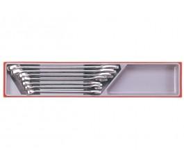 teng tools zestaw 7 kluczy płasko-oczkowych 20-32mm 68910108