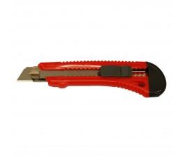 nożyk ostrze łamane 18mm z prowadnicą metalową mega