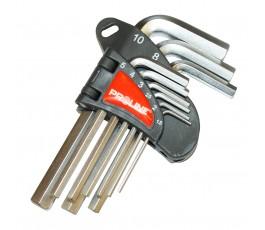 proline komplet 9 kluczy imbusowych sześciokątnych 1,5-10mm 48309