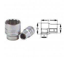 """teng tools nasadka 12-kątna 16mm z chwytem 1/2"""" 74310707"""