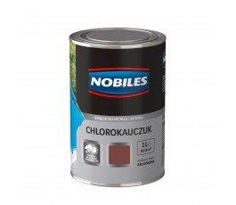 nobiles emalia chlorokauczukowa czerwona tlenkowa 1l do betonu i metalu u030401a010