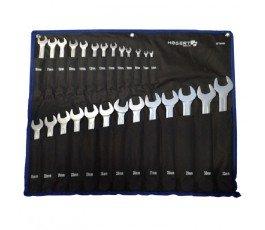 hogert zestaw 26 kluczy płasko-oczkowych 6-32mm ht1w496