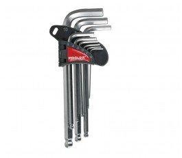 proline zestaw 9 kluczy imbusowych z kulką 1,5-10mm 48329