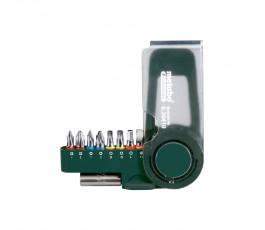 """metabo zestaw 8 bitów """"sp"""" + magnetyczny adapter 630419000"""