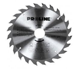 proline piła tarczowa z węglikiem spiekanym do drewna 184mm 36 zębów 84183