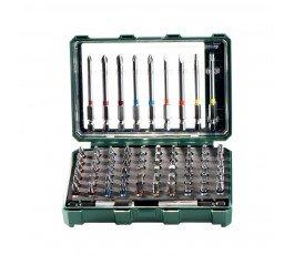 """metabo zestaw 71 bitów """"sp"""" + adaptery magnetyczny i szybkowymienny 626704000"""