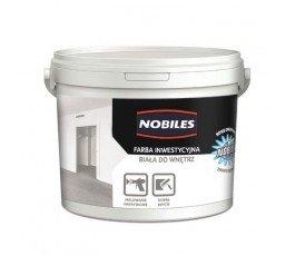 """nobiles farba inwestycyjna """"nobimal"""" 10l biała do wnętrz"""