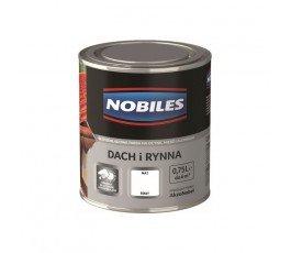 "nobiles farba ""dach i rynna"" 0,75l biała"