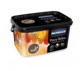 """nobiles farba """"pory roku"""" 5l jesień borowikowa"""