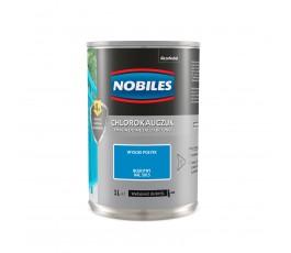 nobiles emalia chlorokauczukowa błękitna 0,9l do betonu i metalu u030500a010 ral 5015