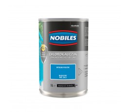 nobiles emalia chlorokauczukowa błękitna 1l do betonu i metalu u030500a010
