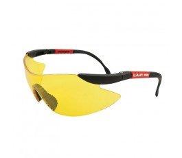 lahtipro okulary ochronne żółte z filtrem uv f1 46039