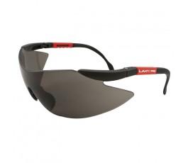 lahtipro okulary ochronne szare przyciemniane z filtrem uv f1 46038