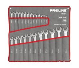 proline zestaw kluczy płasko-oczkowych 24 części 6-32mm 35324