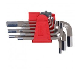 proline zestaw 9 kluczy imbusowych 1.5-10mm 48310