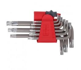 proline zestaw 9 kluczy torx t10-t50 48340