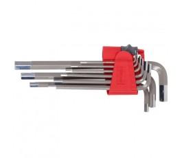 proline zestaw 9 kluczy imbusowych 1.5-10mm długich 48320