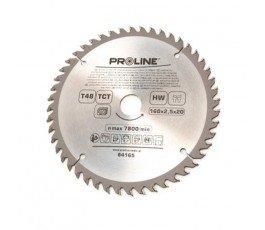 proline piła tarczowa do drewna 160mm 48 zębów redukcja 20/16mm 84165