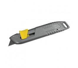 proline nożyk uniwersalny bezpieczny z ostrzem chowanym trapezowym 62mm 30315
