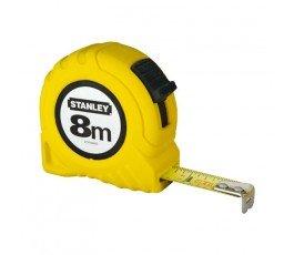 stanley miara 8m/25mm w obudowie plastikowej 304571