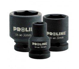 """proline nasadka udarowa 6-kątna 19mm cr-mo z chwytem 1/2"""" zr18419"""