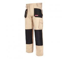 "lahtipro spodnie ochronne do pasa beżowe rozmiar ""m"" (50) l4050150"