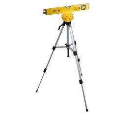 mega laserowa poziomnica 400m + statyw 45-100cm 15142