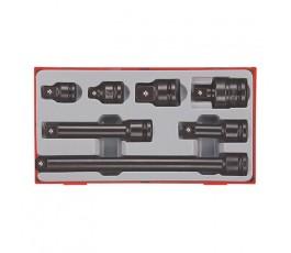 """teng tools zestaw 13 narzędzi nasadowych z chwytem 1/2"""" 160680104"""