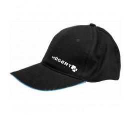 hogert czarna czapka z daszkiem rozmiar uniwersalny (57-61cm) ht5k186