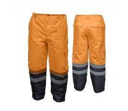 hogert spodnie robocze ocieplane ostrzegawcze xxl pomarańczowe ht5k253-2xl