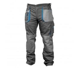 hogert spodnie robocze xxl popielato-szare ht5k274-xxl