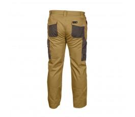 hogert spodnie robocze xxl slim beżowe ht5k276-xxl slim